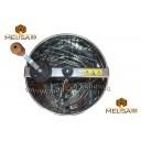 Медогонка 3-х рамочная не поворотная нержавеющая сталь AISI 430.