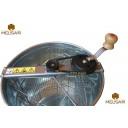 Медогонка 3-х рамочная не поворотная оцинкованная сталь.